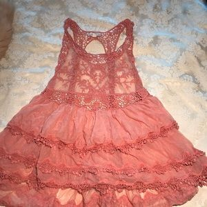 Babydoll Lace Top
